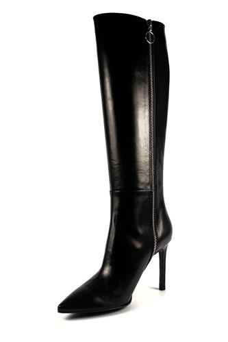 High Boots Black Nappa Leather