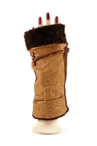 L'APEROBiquette Brown Wool Camel Leather