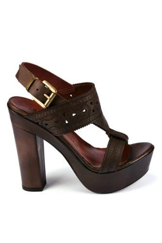 FIORIFRANCESIEthnic Sandal Dark Brown