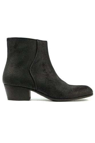 PANTANETTIBoots Bourgeois Black Oiled Suede