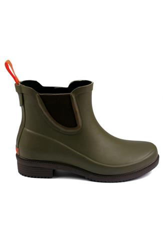 SWIMSDora Hunter Green Boots Low Cut Rubber