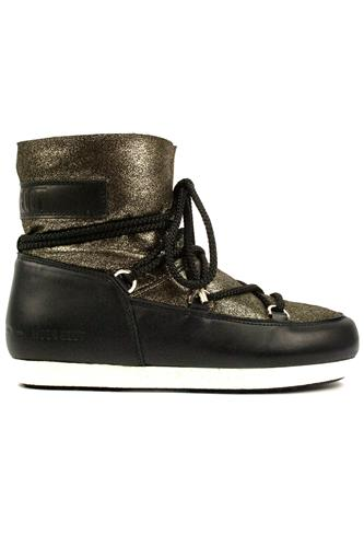 MOON BOOT the originalFar Side Low Sh Stard. Black Platinum