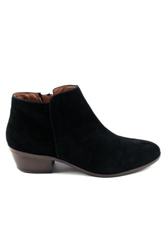 SAM EDELMANPatty Black Suede