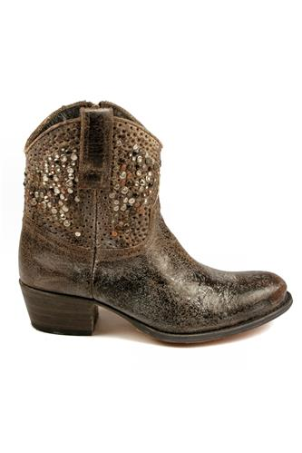 FRYE - since 1863Deborah Studded Grey Crackle