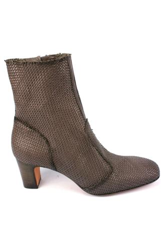 EVA TURNERBooties Woven Dark Grey Land