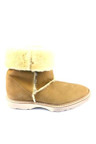 PREMIATAJoss Sheepskin Light Brown Honey