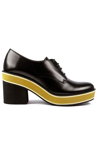 Louisian Micro Cle Yellow High Black Leather, PALOMA BARCELO'