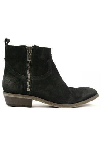 CATARINA MARTINSOlsen Black Aged Suede