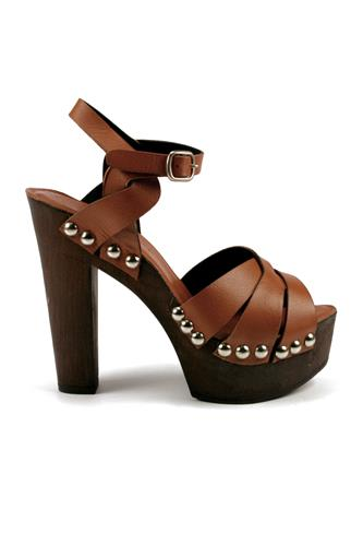 DUCA D'ASCALONANathalie Wedge Sandal Brown