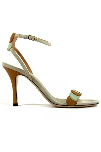 Sue Mint Brown Leather Suede, MINA BUENOS AIRES